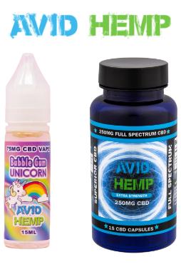 Avid Hemp - Vegan CBD Gummies 125mg 5ct