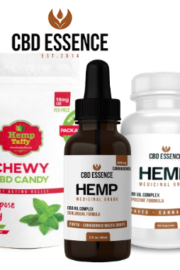 CBD Essence - CBD Oil Edible Mint Taffy Chewy Candy