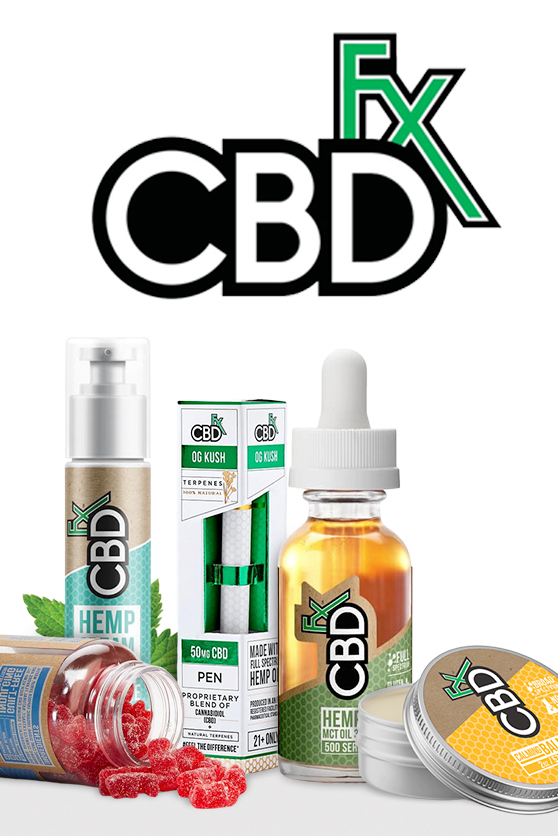 CBDfx - Muscle & Joint CBD Hemp Cream 500mg