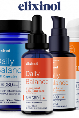 Elixinol - Daily Balance Tincture Full Spectrum