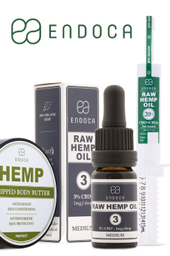 Endoca - CBD Oil (THC free) 150MG CBD/ml