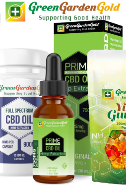 Green Garden Gold - CBG Gummies