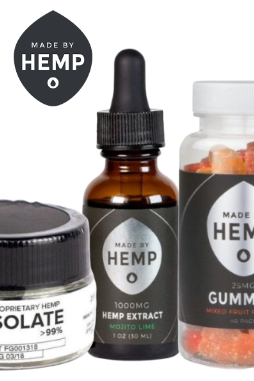 Made By Hemp - Made By Hemp – CBD Gummies 40 Pack (25mg CBD ea.)