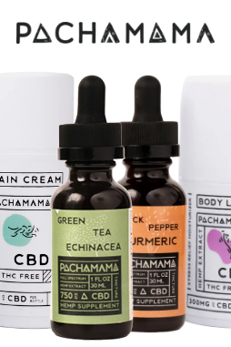 Pachamama - CBD Tincture - Green Tea Echinacea - 750mg