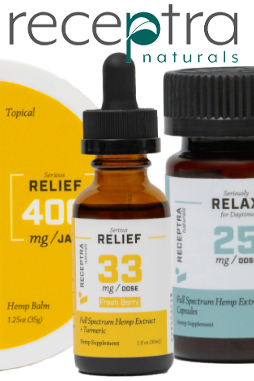 Serious Relax + Lavender Tincture 25mg /Dose (2 oz.)