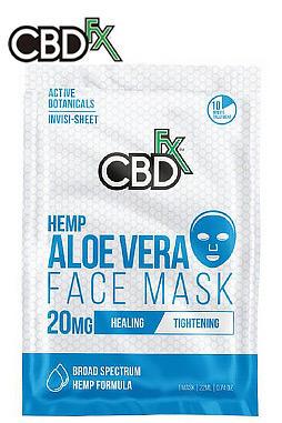 CBDfx - CBD Aloe Vera Face Mask