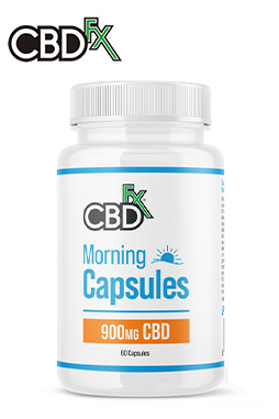 CBD + CBG Morning Capsules 900mg