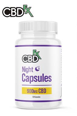 CBD + CBN Night Capsules 900mg