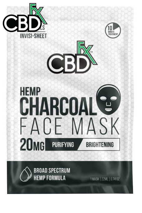 CBDfx - CBD Charcoal Face Mask