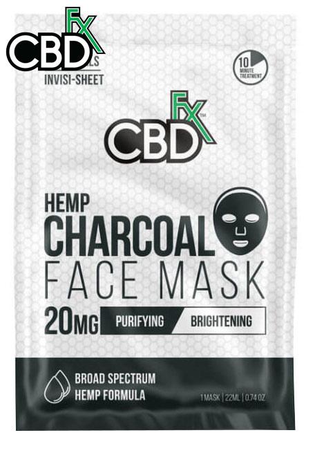 CBDfx - CBD Charcoal Face Mask