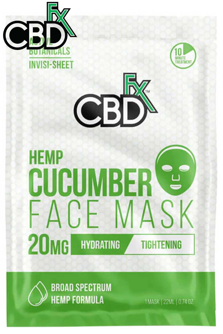 CBDfx - CBD Cucumber Face Mask