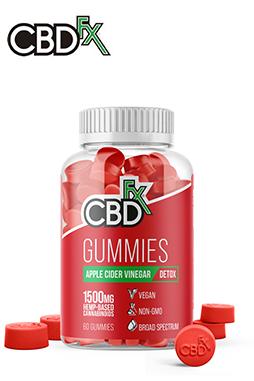CBDfx - CBD Gummies with Apple Cider Vinegar 1500mg