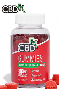 CBDfx - CBD Gummies with Apple Cider Vinegar