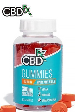 CBDfx - CBD Gummies with Biotin for Hair and Nails