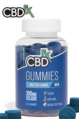 CBDfx - CBD Gummies with Multivitamin For Men