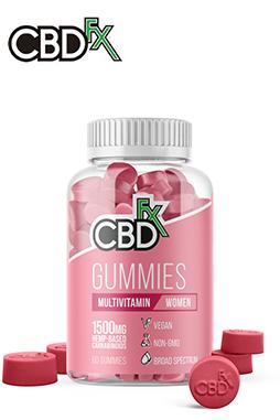 CBDfx - CBD Gummies with Multivitamins for Women 1500mg