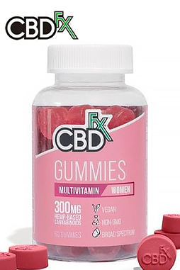 CBDfx - CBD Gummies with Multivitamin For Women