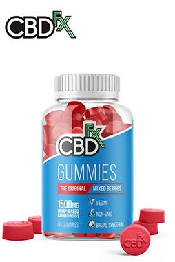 CBDfx - CBD Gummy Bears 1500mg