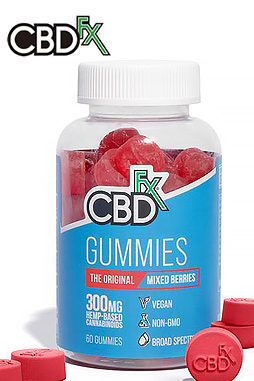 CBDfx - CBD Gummy Bears 300mg