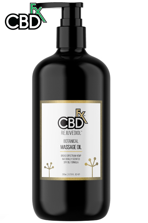 CBD Massage Oil – Rejuvediol™