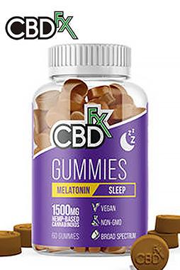 CBDfx - CBD Gummies for Sleep with Melatonin 1500mg