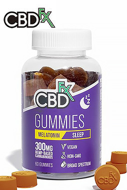 CBDfx - CBD Melatonin Gummies