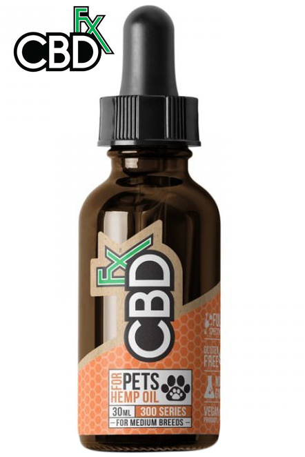 CBDfx - Pet CBD Oil 300mg (Medium Breed)
