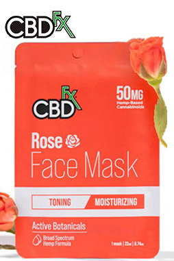 CBDfx - CBD Face Mask – Rose
