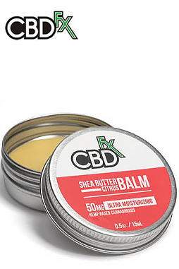undefined - CBD Shea Butter Citrus Balm