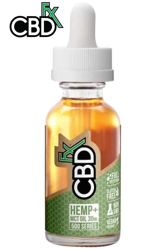 CBDfx - CBD Tincture Oil 500mg