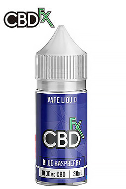 Blue Raspberry – CBD Vape Juice - 1000 mg