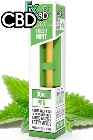 CBDfx - CBD Vape Pen – Fresh Mint