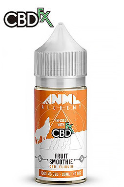 CBDfx - Strawberry Jelly Donut CBD E-Liquid by Anml Alchemy 1000 mg