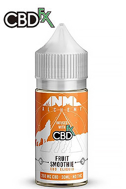 Strawberry Jelly Donut CBD E-Liquid by Anml Alchemy 250 mg