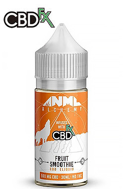 Strawberry Jelly Donut CBD E-Liquid by Anml Alchemy 500 mg