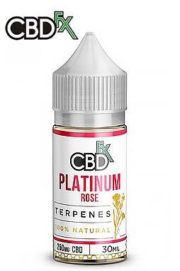 CBDfx - Platinum Rose – CBD Terpenes Oil - 500 mg