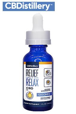 Full Spectrum CBD Oil Tincture – 1000mg – 30ml
