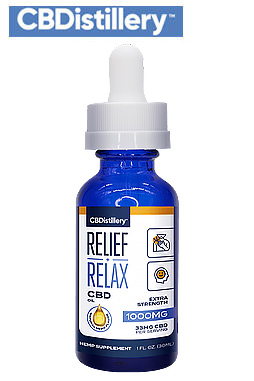 Full Spectrum CBD Oil Tincture – 1000mg – 30ml