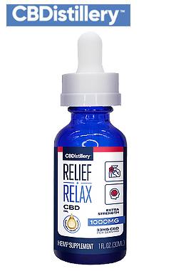 THC-Free Pure CBD Oil Tincture – 1000mg – 30ml