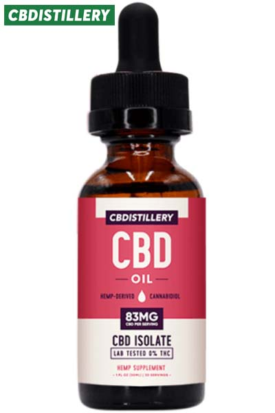undefined - THC-Free Pure CBD Oil Tincture – 2500mg – 30ml