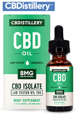 THC-Free Pure CBD Oil Tincture – 250mg – 30ml