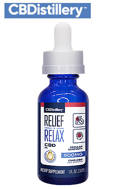 undefined - THC-Free Pure CBD Oil Tincture – 500mg – 30ml