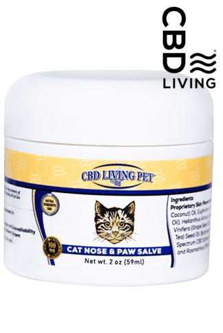 CBD Living Cat Nose & Paw Salve 100 mg