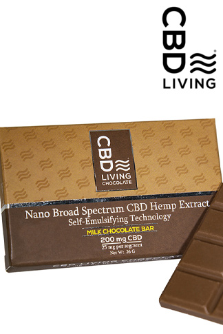 CBD Living - CBD Chocolate Bar