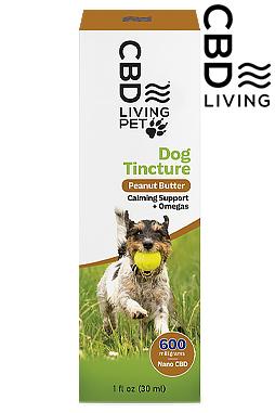 CBD Living Calming Dog Tincture 600mg