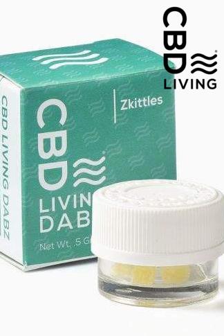 CBD Living Dabz Shatter - Zkittles 500 mg