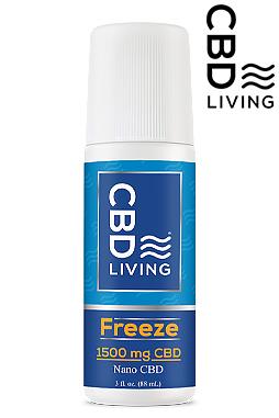 CBD Roll On - CBD Living Freeze - 1500mg