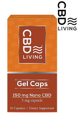 CBD Gel Capsules (30 counts) 150mg