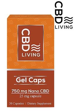 CBD Gel Capsules (30 counts) 750mg