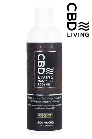 CBD Living Massage Oil